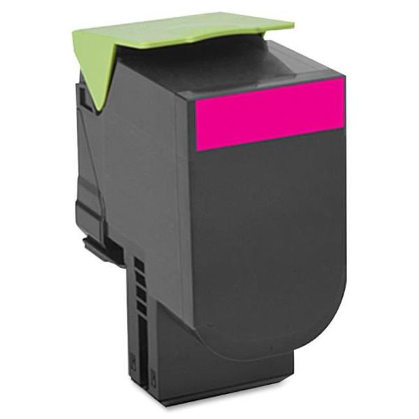 Lexmark 801SM Magenta Standard Yield Return Program Toner Cartridge - Magenta - Laser - 2000 Page 80C1SM0