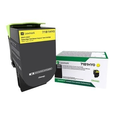 Lexmark Toner Cartridge - Yellow 71B1HY0