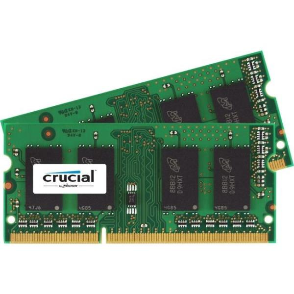 CRUCIAL 16GB KIT 8GBX2 DDR3 1866 MTS CT2K102464BF186D