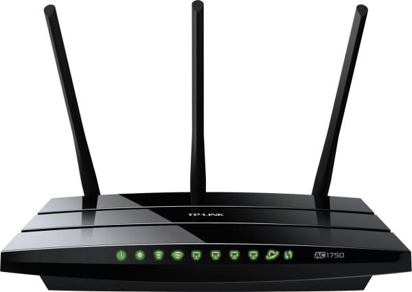 TP-LINK Archer C7 AC1750 Wireless Dual Band Gigabit Router - Wi-Fi 802.11ac - up to 1.75Gbps - 4-port switch - 2 x USB 2.0 (ARCHER C7)