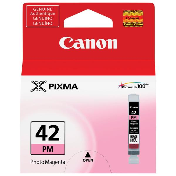 Canon CLI-42PM Ink Cartridge - Photo Magenta - Inkjet - OEM 6389B002