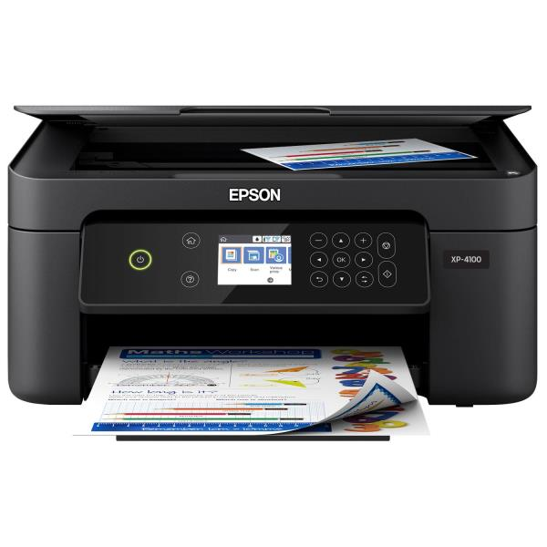 Epson Expression Home XP-4100 Wireless All-In-One Inkjet Printer C11CG33201