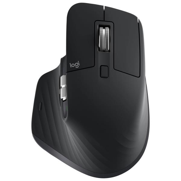 Logitech MX Master 3 Bluetooth Darkfield Mouse - Black 910-005647