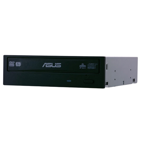 ASUS 24X DVD Burner - Bulk Black SATA Model DRW-24B1ST/BLK/B/AS OEM