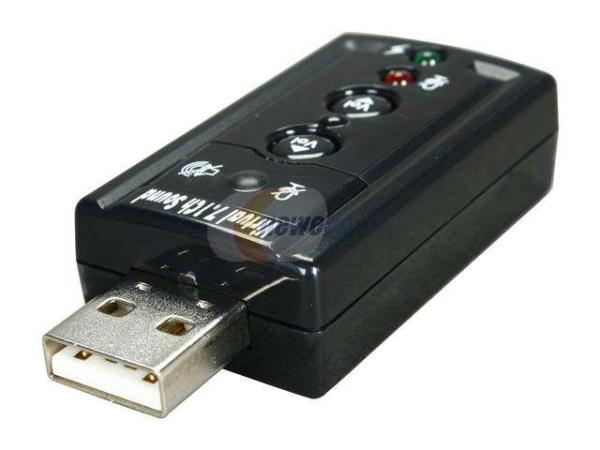 StarTech.com Virtual 7.1 USB Stereo External Sound Card - USB - External