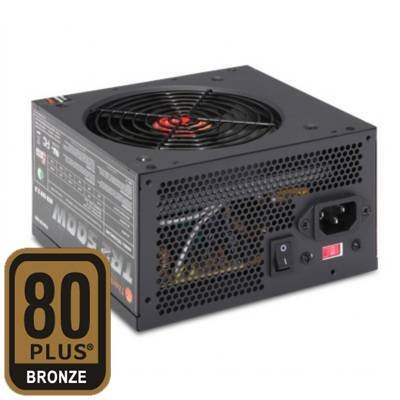Thermaltake TR-500 TR2 ATX Power Supply - 500W, 120mm Fan, Active PFC