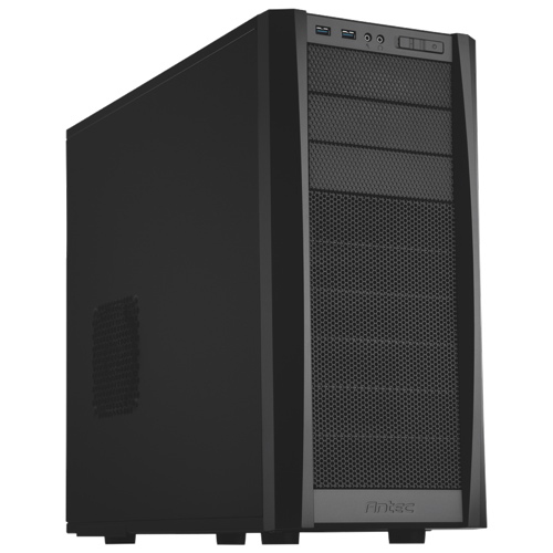 Antec Three Hundred Two Mid Tower Gaming Case 300 ATX 3X5.25 6X3.5INT No PS Front USB3.0 & Audio