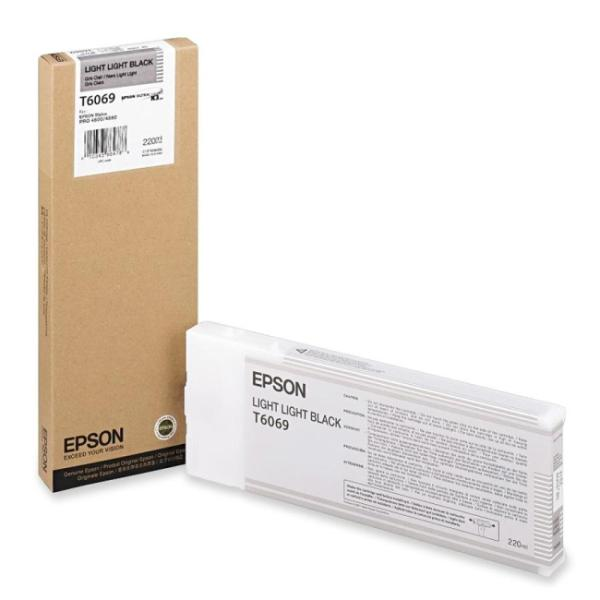 Epson Light Light Black Inkt 220ML for Stylus Pro 4800 & 4880 T606900