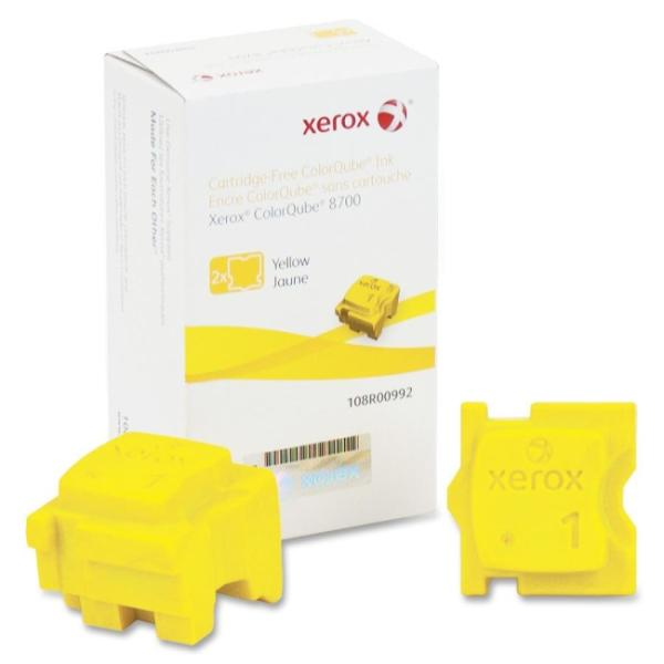 Xerox Solid Ink Stick - Yellow - Solid Ink - 2