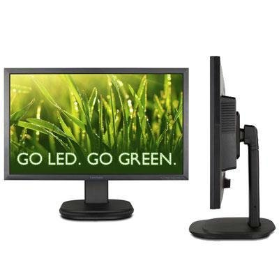 "Viewsonic VG2439m-LED 24"" LED LCD Monitor - Adjustable Display Angle - 1920 x 1080 - Speakers - DVI - VGA"