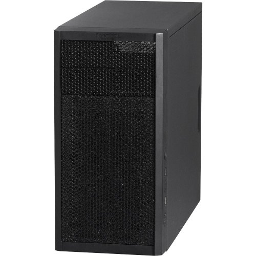 Fractal Design Core 1000 mATX Computer Case 2X3.5IN 3X2.5IN USB3.0 *No PSU* FD-CA-CORE-1000-USB3-BL