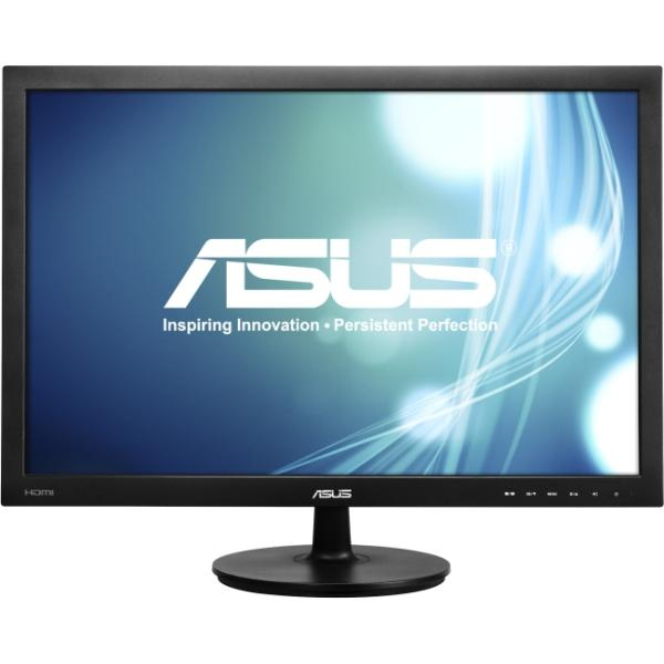 "ASUS 24"" Class IPS Panel LED Monitor - 1920 x 1200, 16:10, 80000000:1, 5ms, HDMI, VGA, DVI-D, Energy Star (VS24AH-P)"