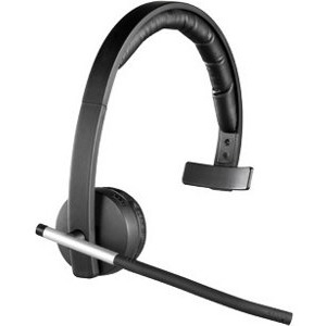 Logitech H820E Wireless Headset Mono Design With Microphone and Charger Dock for Enterprise 981-000511